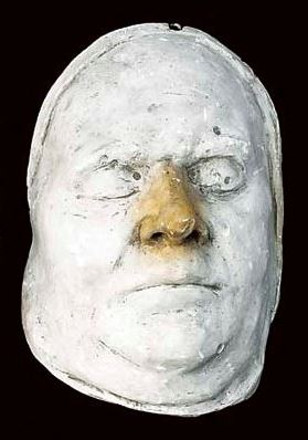 A Ghost With the Smell of a Charnel-house Death mask of an unknown man. http://www.christies.com/lotfinder/lot/two-19th-century-death-mas-4369046-details.aspx?from=searchresults&intObjectID=4369046&sid=76537c35-cb40-428b-92bd-9183e42eb260