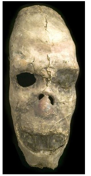 Death Mask. Skull mask by Oliver Messel, 1920-9 http://collections.vam.ac.uk/item/O126783/masks-costume-messel-oliver-hilary/