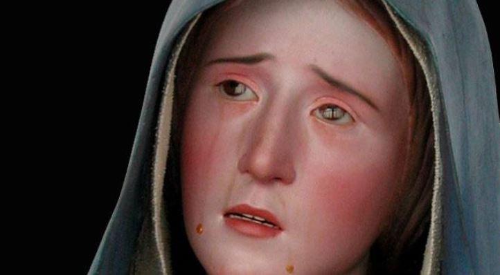 Weeping Virgin Ends in Tears. Virgen Dolorosa, Pedro de Mena, c. 1680 Museo Diocesano de Zamora