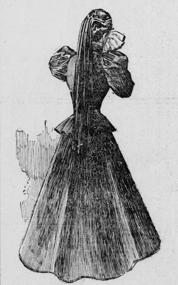 Transparent Fiction - The Myth of the Victorian Tear Bottle This weeping widow uses a handkerchief, not a tear bottle, 1897